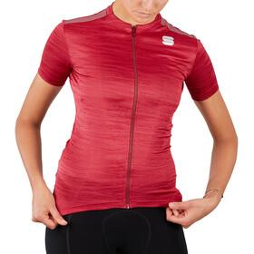 Sportful Supergiara Jersey Women, czerwony